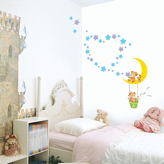KIDS Adhesive Removable Wall Home Decor Accents Sticker Decal