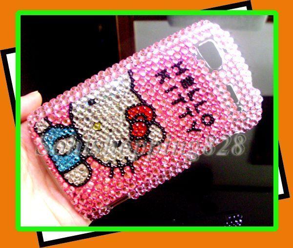 Hello Kitty Bling Hard Case HTC Sensation 4G G14 Pink @
