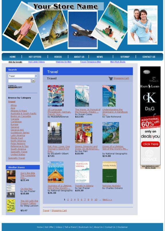 Money Making Travel Information Website for Sale