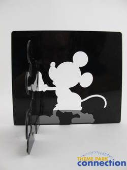 Mickey & Minnie Mouse Metal Silhouette Bookends Figure Set