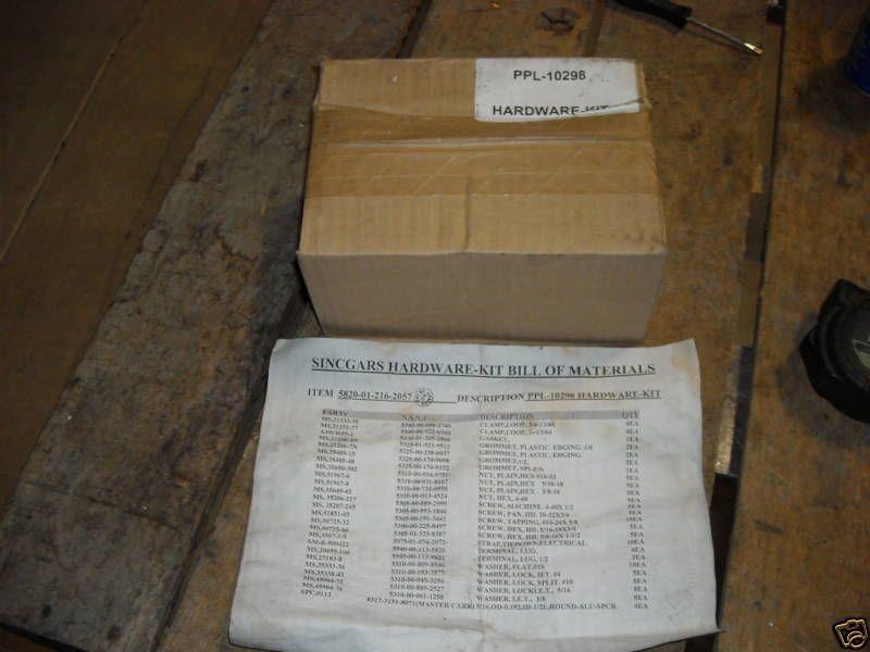 Radio Equipment Installation Kit, NIB, Antenna Part