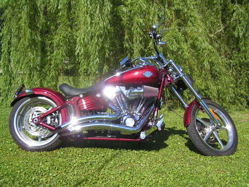 Harley Davidson Softail Rocker Seat by Danny Gray 23BKG