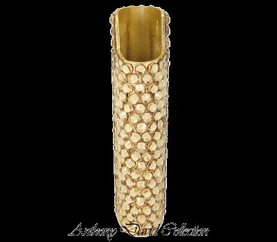 Crystal Cigarette Lighter Case Holder with Swarovski Crystal   Gold